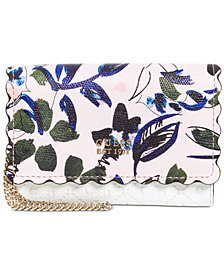 GUESS Rayna Floral Double Date Wallet
