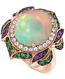 Le Vian Crazy Collection® Multi-Gemstone Statement Ring (5-1/4 ct. t.w.) in 14k Rose Gold