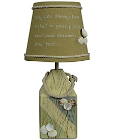 Shell Buoy Accent Lamp