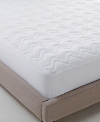 Martha Stewart Essentials Classic Queen Mattress Pad, 60 Inches x 80 Inches, White