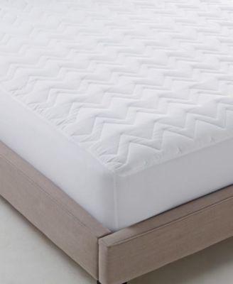 Martha Stewart Essentials Classic Queen Mattress Pad, 60 Inches x 80 Inches, White