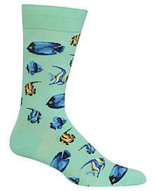 Hot Sox Men's Tropical Fish Socks