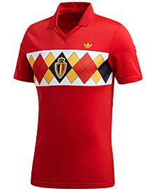 adidas Men's Originals Belgium Replica Soccer T-Shirt
