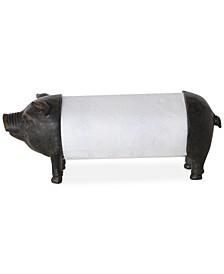 Pig Shaped Paper Towel Holder
