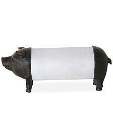 Pig Shaped Paper Towel Holder