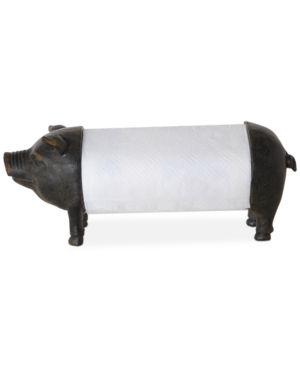 Pig Shaped Paper Towel Holder 6203480