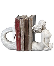 2-Pc. Mermaid Bookends