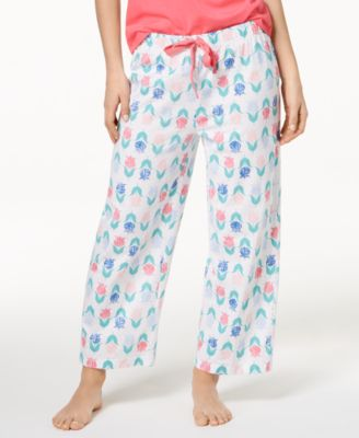 Soft Cotton Printed Pajama Pants, Created for Macy's