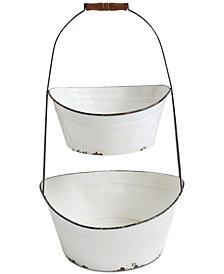 Metal 2-Tier Bucket