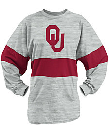 Royce Apparel Inc Women's Oklahoma Sooners Morehead Sweeper Shirt