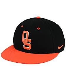 Oklahoma State Cowboys Aerobill True Fitted Baseball Cap