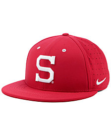 Nike Stanford Cardinal Aerobill True Fitted Baseball Cap