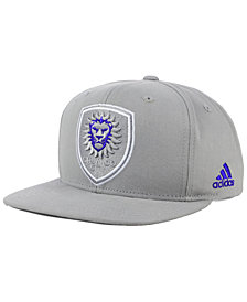 adidas Orlando City SC Gray Snapback Cap