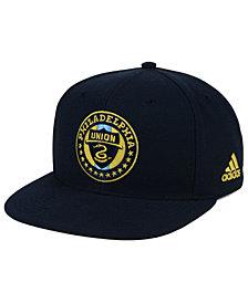 adidas Philadelphia Union Poly Snapback Cap