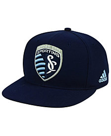 adidas Sporting Kansas City Poly Snapback Cap