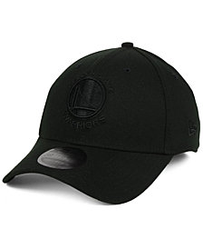 New Era Golden State Warriors Blackout 39THIRTY Cap