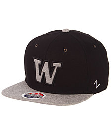 Zephyr Washington Huskies The Boss Snapback Cap