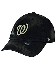 '47 Brand Washington Nationals Dark Horse CLEAN UP Cap