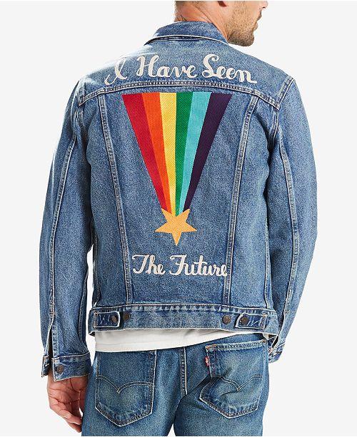 Levi's Men's Denim PRIDE Trucker Jacket