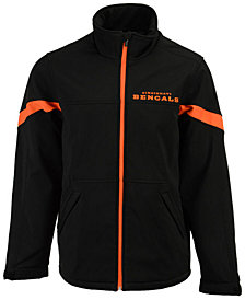 G-III Sports Men's Cincinnati Bengals The Franchise Softshell Jacket