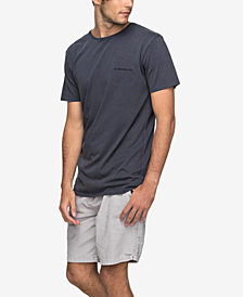 Quiksilver Men's Acid Washed Logo T-Shirt