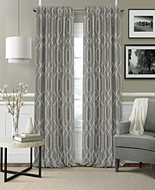 "Elrene Devin 52"" x 95"" Blackout Rod Pocket/Back Tab Curtain Panel"