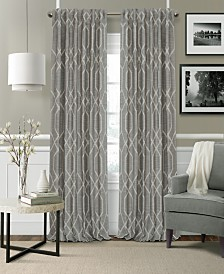 Elrene Devin Blackout Rod Pocket/Back Tab Curtain Panels