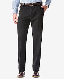 Dockers Men's Comfort Classic Flat Front Fit Stretch Pants