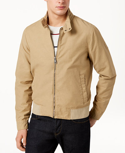 Tommy Hilfiger Men's Dillard Barracuda Bomber Jacket