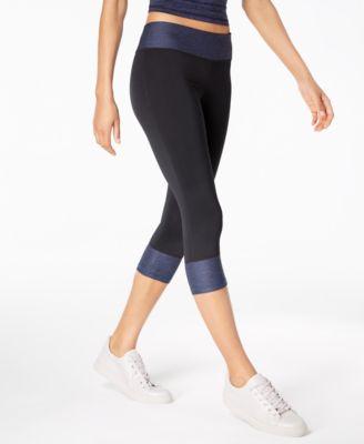 Rapidry Colorblocked Capri Leggings, Created for Macy's