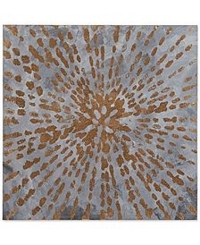 Urban Habitat Starburst Gel-Coated Canvas Foil Print