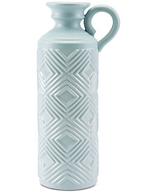 Zuo Herringbone Bottle Vase, Large