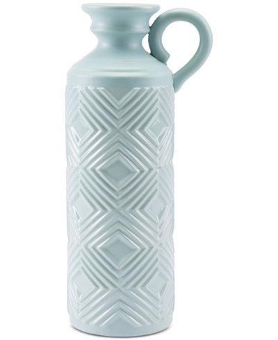 Zuo Herringbone Bottle Vase, Large