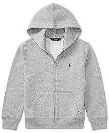 Ralph Lauren Big Boys Full Zip Hoodie