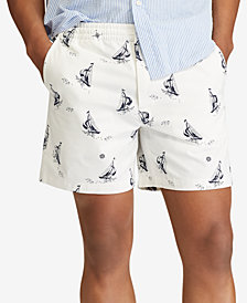 "Polo Ralph Lauren Men's Big & Tall Classic-Fit Prepster 8"" Shorts"