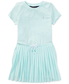 Polo Ralph Lauren Pleated Dress, Little Girls