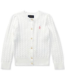 Polo Ralph Lauren Little Girls Cable Cardigan
