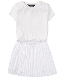 Polo Ralph Lauren Pleated Dress, Big Girls