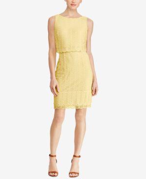 American Living Mesh Popover Dress 6799385