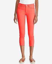 Lauren Ralph Lauren Petite Premier Skinny Crop Jeans