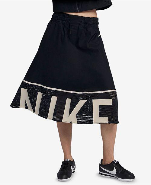 ae36eaae8 Nike Sportswear Dri-FIT Skirt & Reviews - Skirts - Women - Macy's