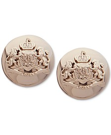 Lauren Ralph Lauren Crest Stud Earrings
