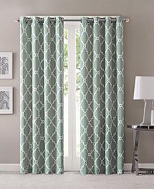 Saratoga Geometric Print Curtain & Valance Collection