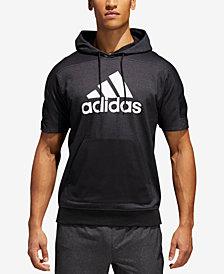 adidas Men's Sport ID Short-Sleeve Hoodie