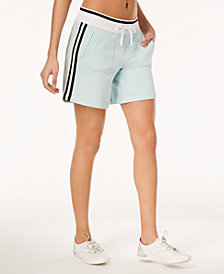 Calvin Klein Performance Striped Terry Shorts