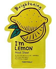 I'm Lemon Sheet Mask - (Brightening)