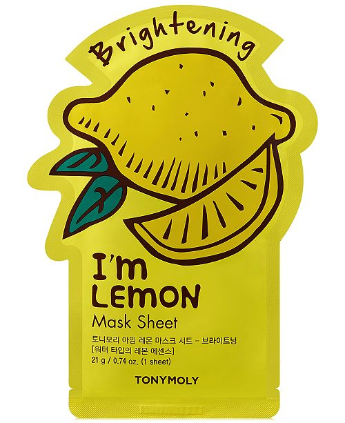 TONYMOLY I'm Lemon Sheet Mask - (Brightening)