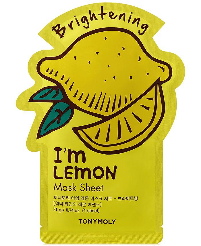 TONYMOLY - I'm Lemon Sheet Mask - (Brightening)