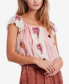 Free People Pukka Peasant Top