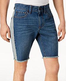 American Rag Men's Colorblocked Denim Shorts, Created for Macy's